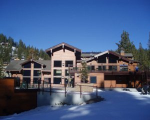 Snowflake Lodge at Diamond Peak Ski Resort