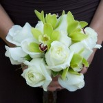 White_Cymbidia_orchid-Bouquet