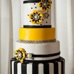 Yellow_and_Black_Wedding_Cake