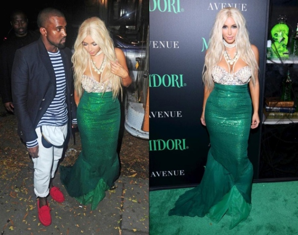 Kayne u0026 Kim ...  sc 1 st  EngagedNowWhat.com & Celebrity Halloween Costumes - EngagedNowWhat.com