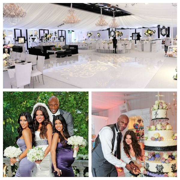 Celebrity Wedding Receptions