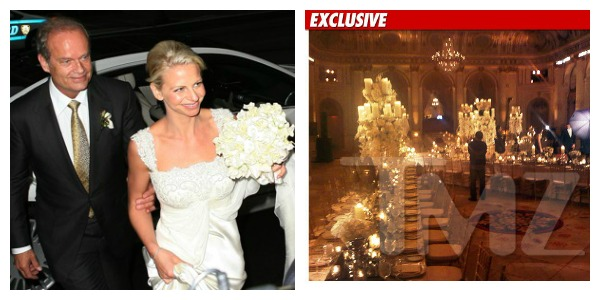 Kelsey Grammer Wedding Decor