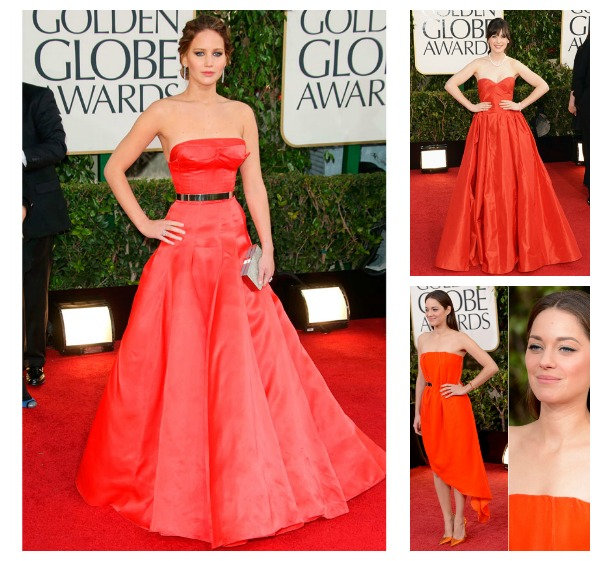 Golden Globe 2013 dresses