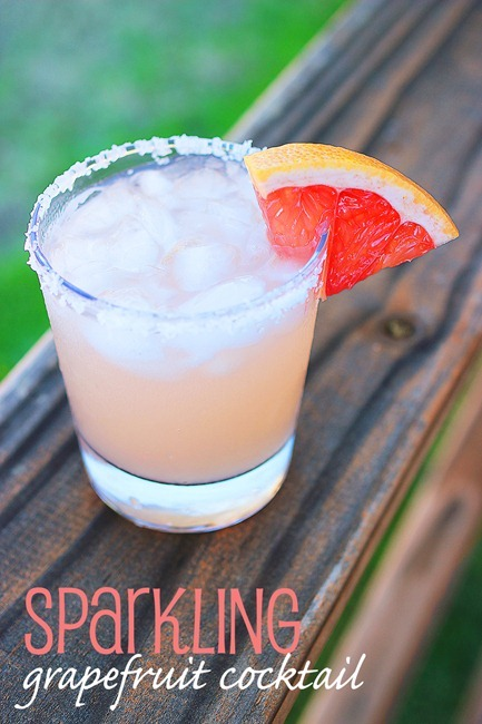 Grapefruit Specialty Cocktails
