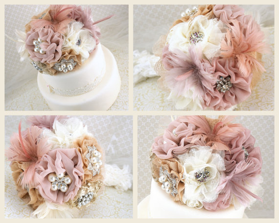 Brooch Cake Topper