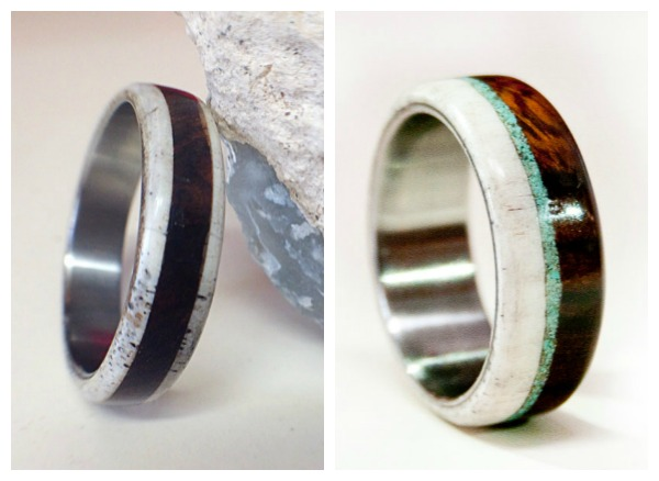 We Love These Unique Rings By Staghead Designs The Rings Are Made From