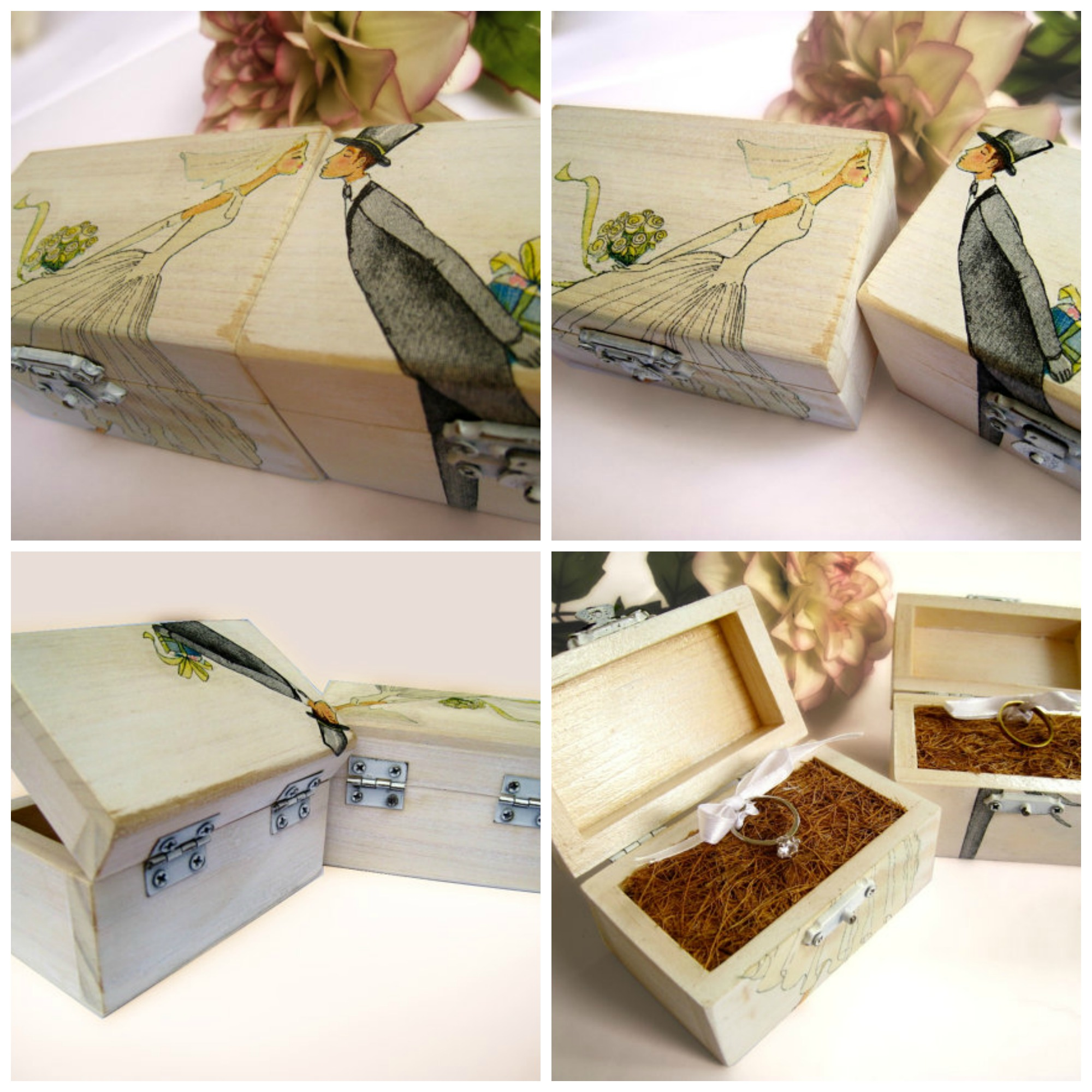 Ring Bearer Boxes
