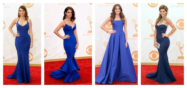 Blue Emmy Dresses 2013